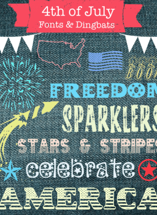 Free Dingbats Fonts for 4th of July 37