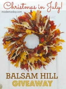 Fall Harvest Wreath Giveaway