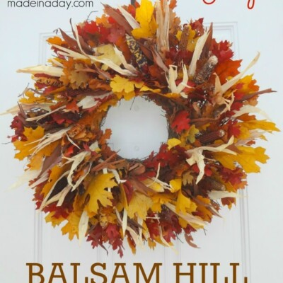 Balsam Hill Harvest Foliage Fall Wreath Review