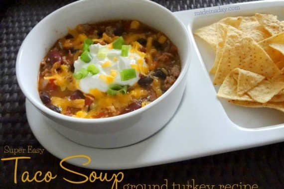 Taco Soup Ground Turkey