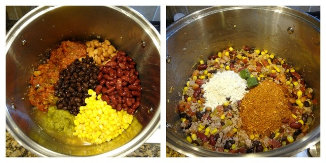recipe: healthy taco soup with ground turkey [14]