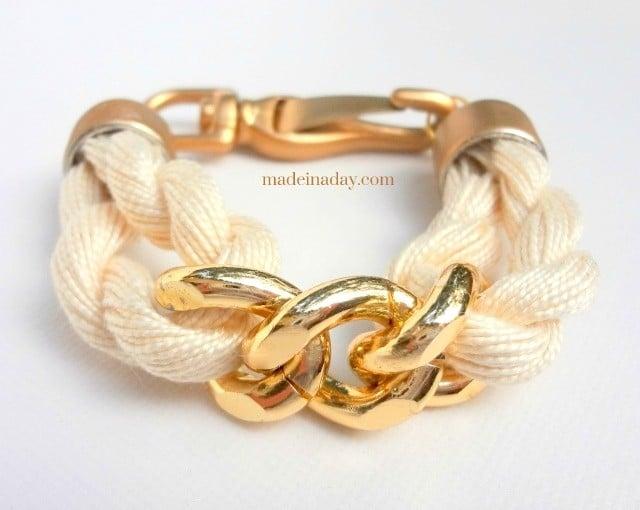 Rope & Chain Bracelet