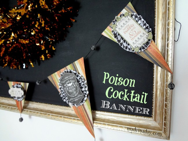 Halloween Poison Garland