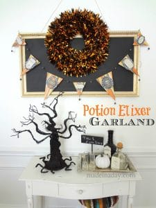 Potion Elixer Garland