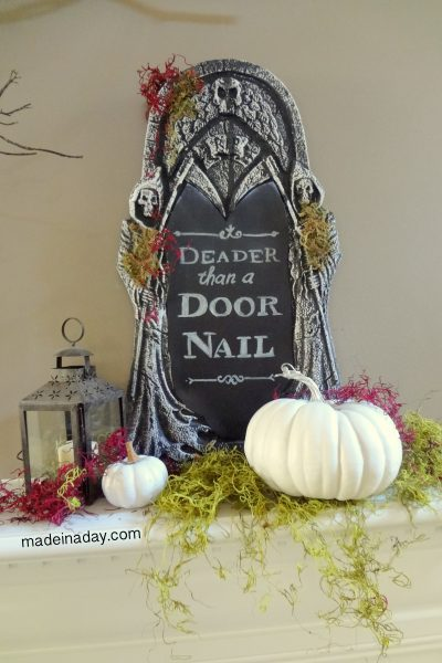 Chalkboard Tombstone FREE Printable