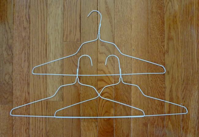 Arrange hangers