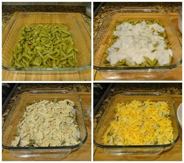 Green Bean Casserle Prep