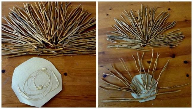 Make a Twig Turkey