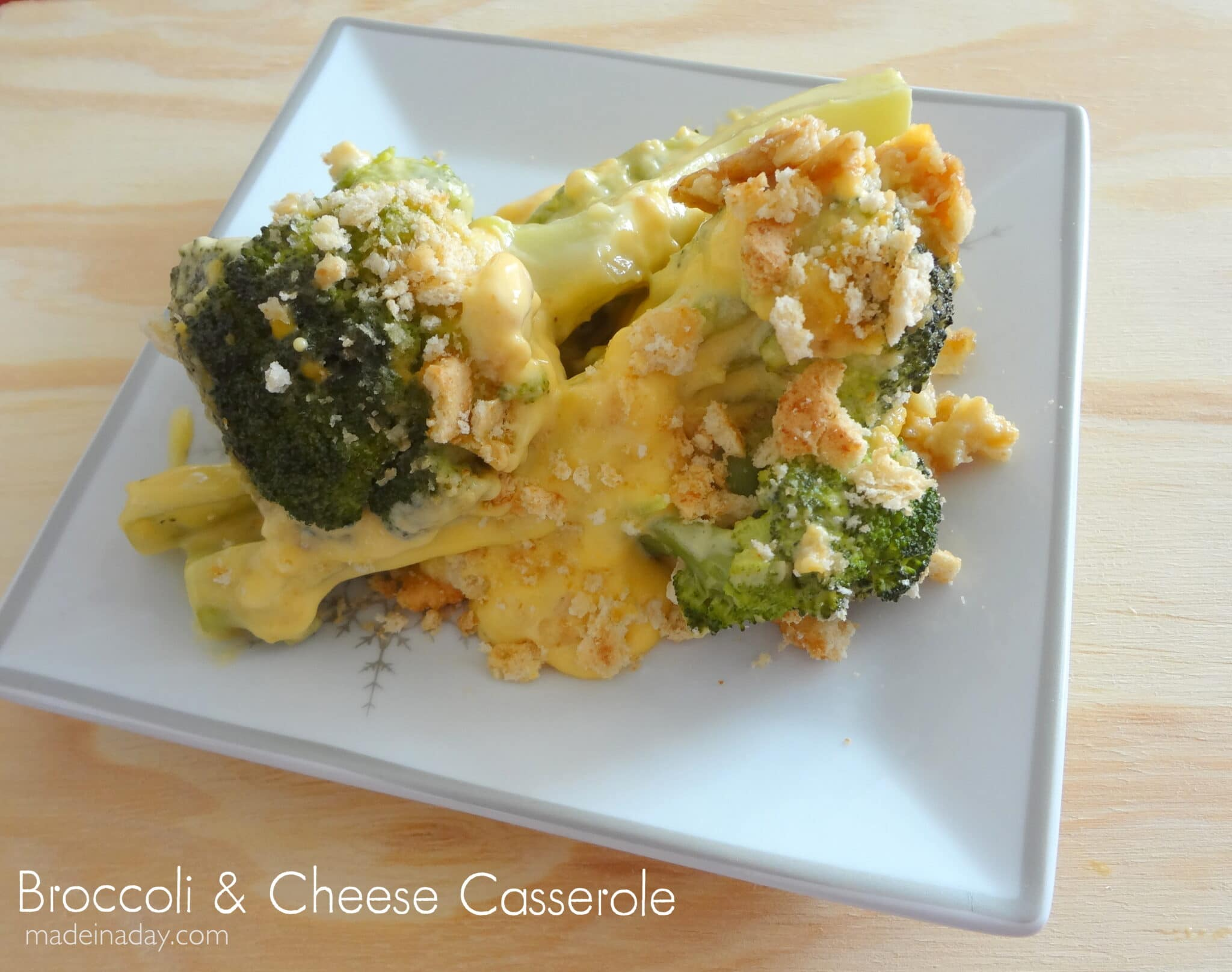 Broccoli and Cheese Casserole | Made in a Day