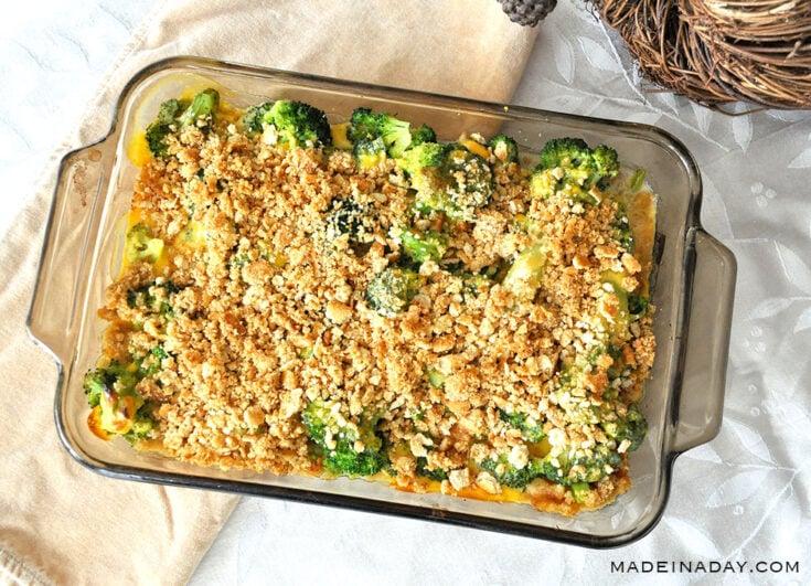 Broccoli and Cheese Casserole 31