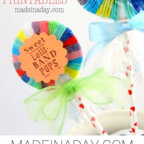 Hair Band Lollipops Free Printable 1