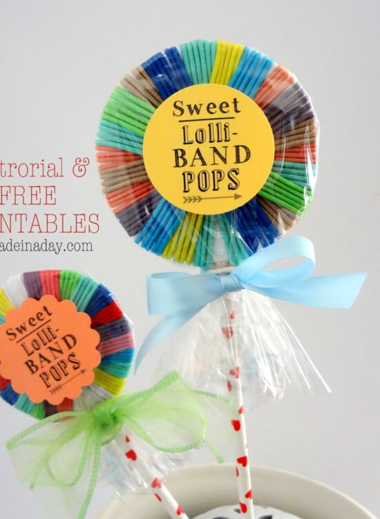 Hair Band Lollipops Free Printable 8