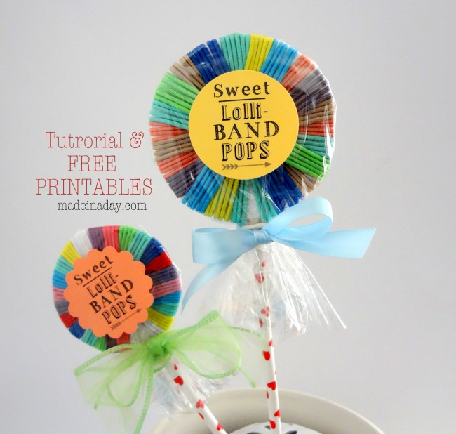 Hair Band Lollipops FREE Printables