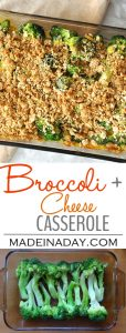 Broccoli and Cheese Casserole 1
