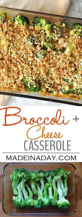 #Broccoli & Cheese Casserole, #comfortfood recipe, holiday treat, Velveeta and cheese blend sauce, crushed crackers, southern #casserole recipe favorite,