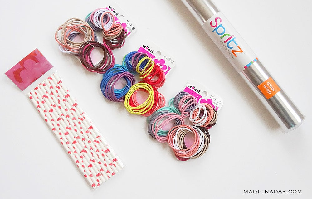 make hair tie pops