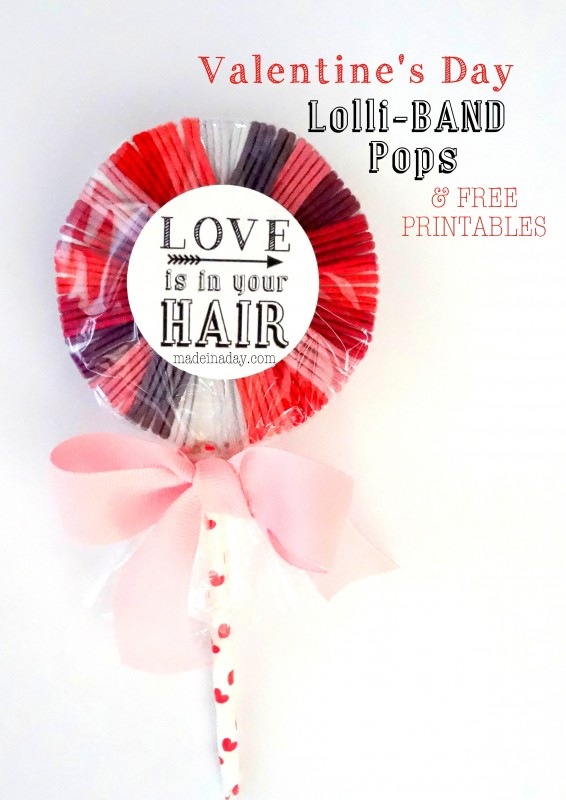 Valentine Hair Band Lollipop