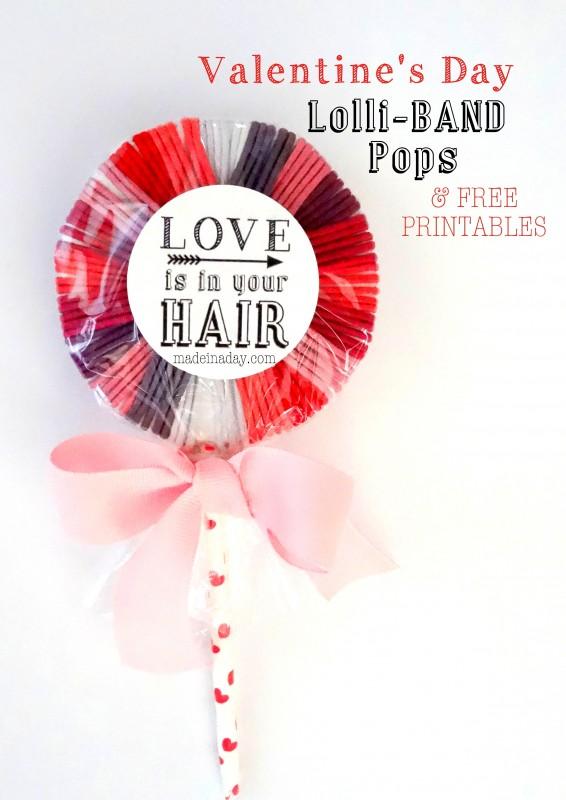 Valentine Hair Band Lollipop