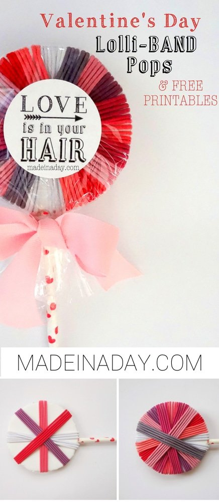 Hair Band Lollipops Free Printable 6