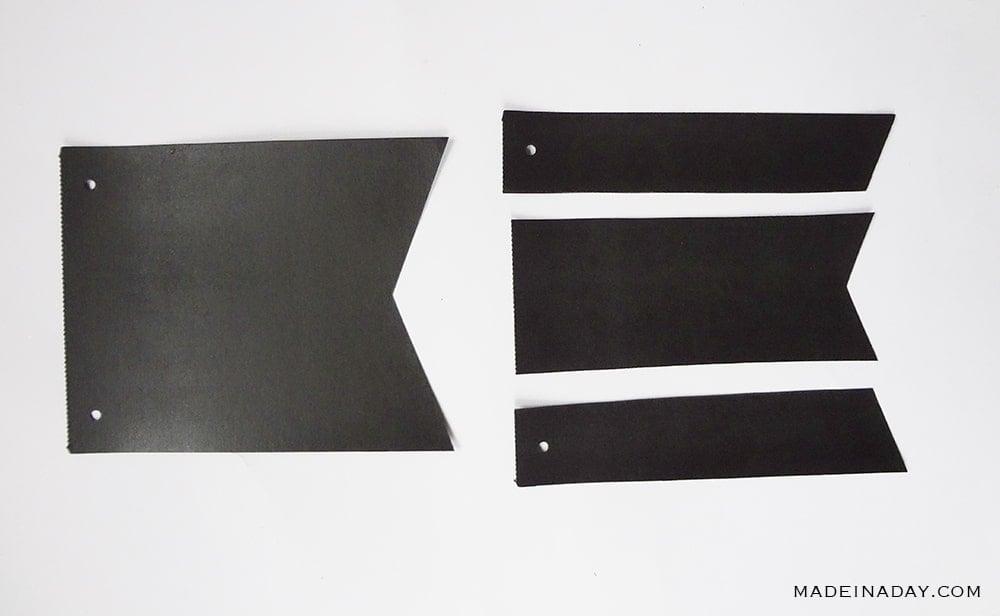 chalkboard garland paper
