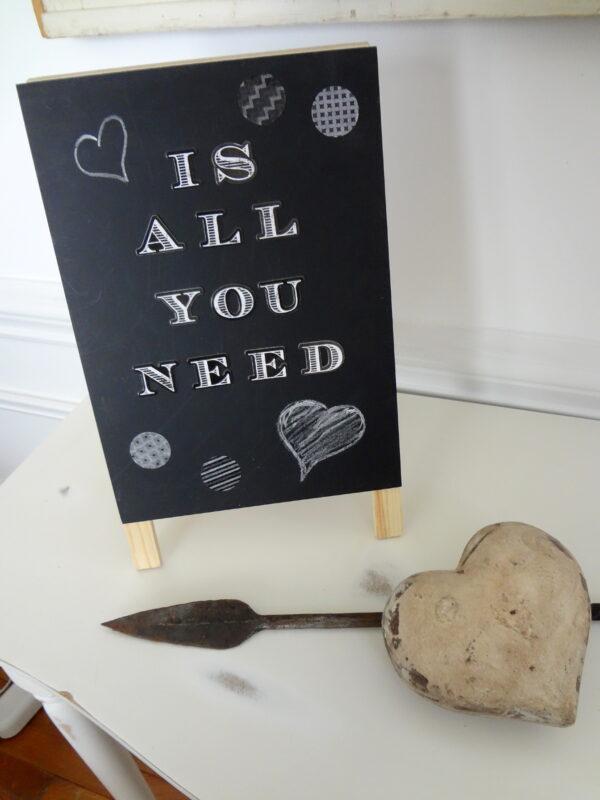 Valentine Chalkboard