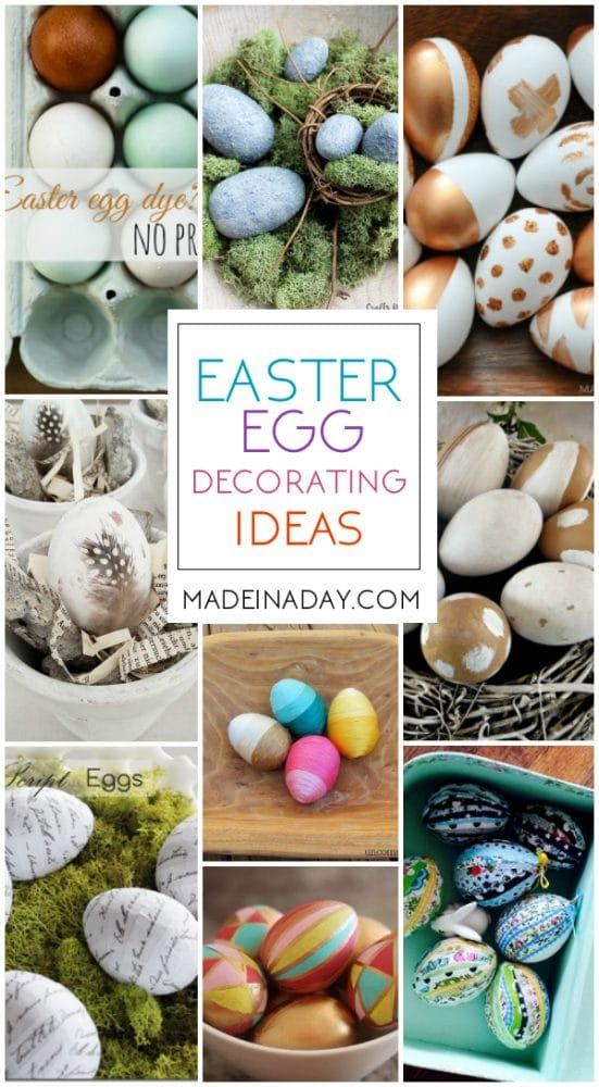 Easter Egg decor decorating ideas