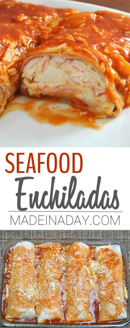 Seafood Enchiladas with Imitation Crab 32