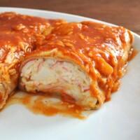 Seafood Enchiladas with Imitation Crab