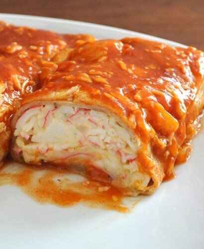 Seafood Enchiladas with Imitation Crab 31