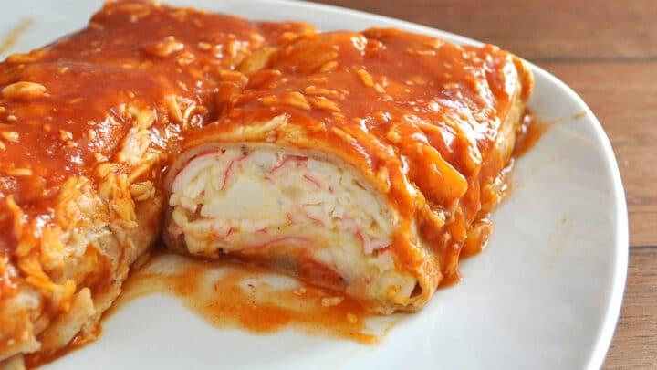 Loaded Baked Seafood Burrito Recipe 7
