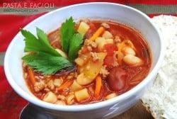 Olive Garden Copycat Pasta e Fagioli madeinaday.com