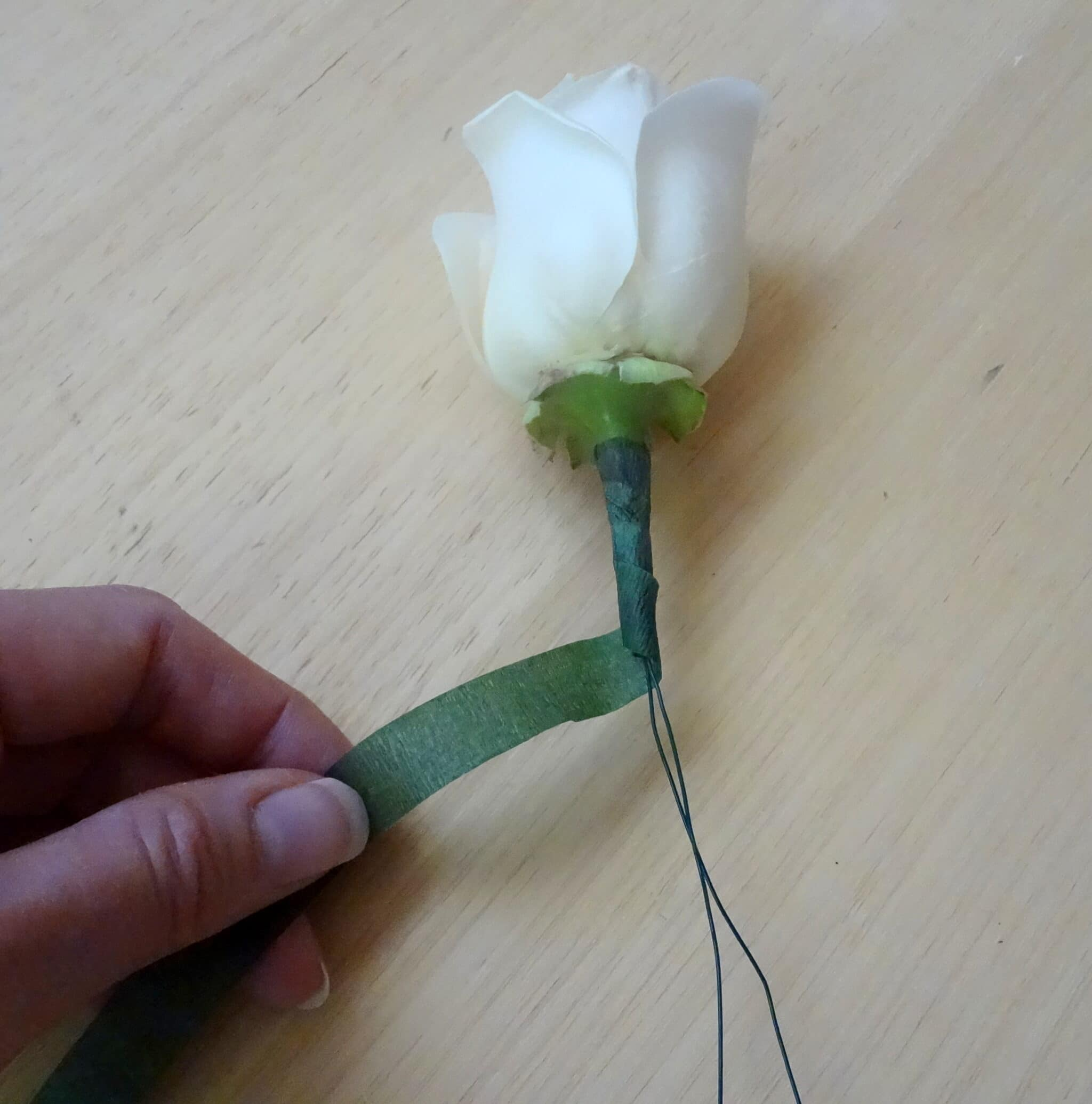 Mens wedding buttonhole flowers midway media how to make a boutonniere made in day diy silk flower boutonnieres mightylinksfo