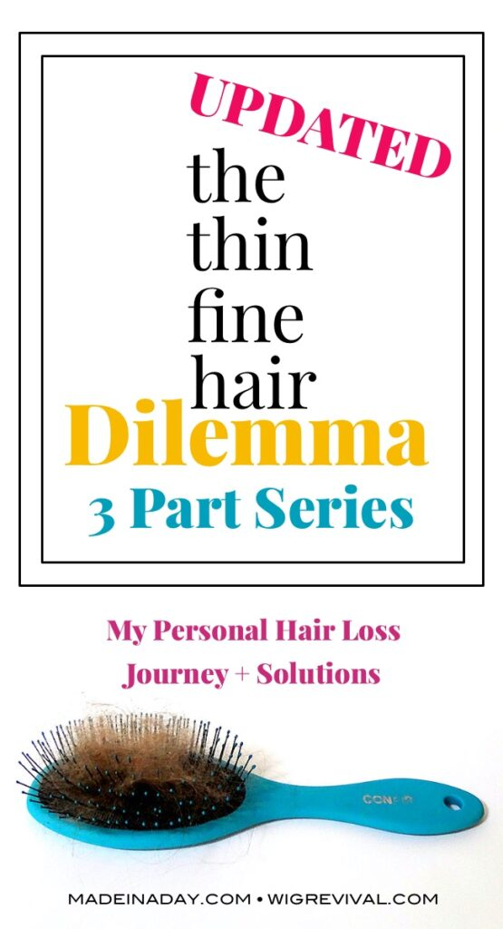 Part 1 fine thin hair dilemma, hair loss solutions,