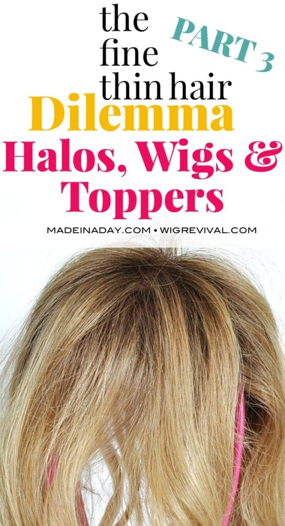 Solve hair loss with hair pieces, wigs, hair toppers,