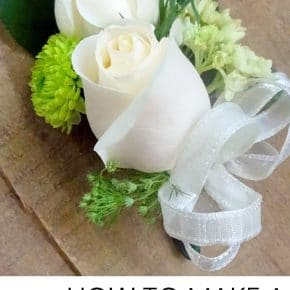 How to make a Corsage for Weddings Prom and more! 31