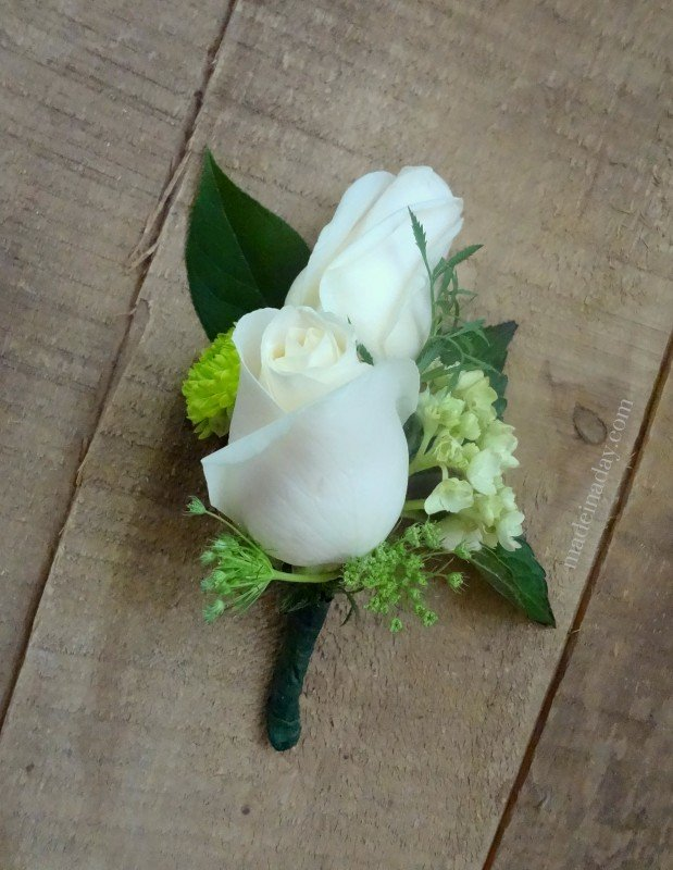 How To Make Wedding Bouquets And Corsages : How to make a corsage made in day
