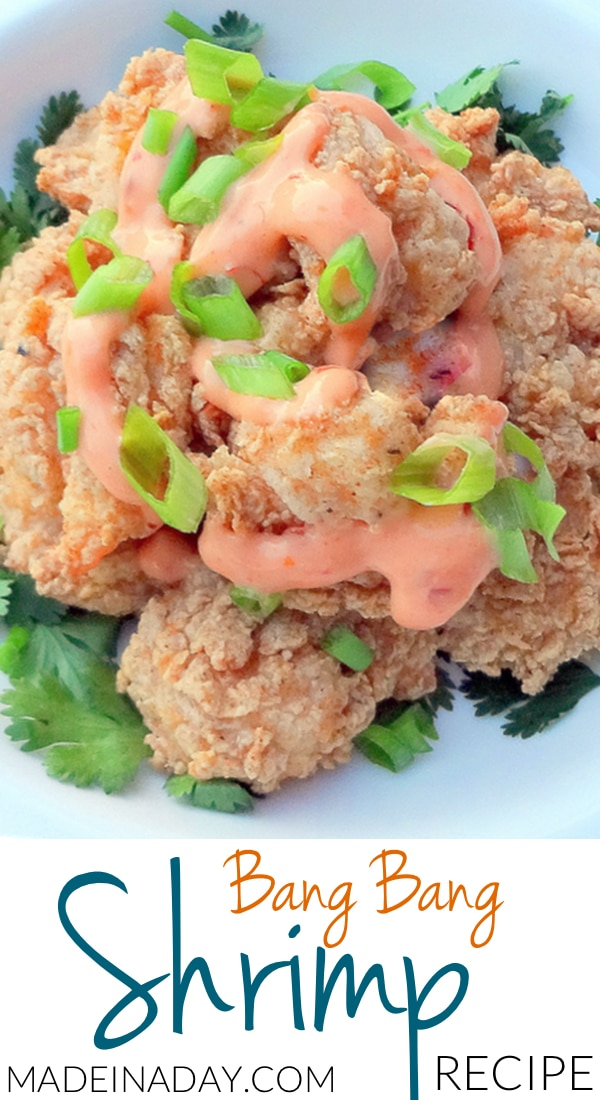 There are so many copy cat recipes out there for this dish, but the breading for the shrimp in this recipe is dead on for southern coastal seafood! A must try you won't be disappointed! Bang bang shrimp, spicy shrimp recipe, best seafood breading recipe, fried shrimp