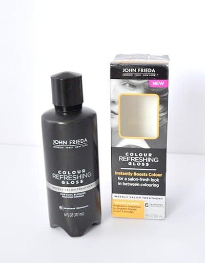 color refreshing gloss, hair repair for fine hair