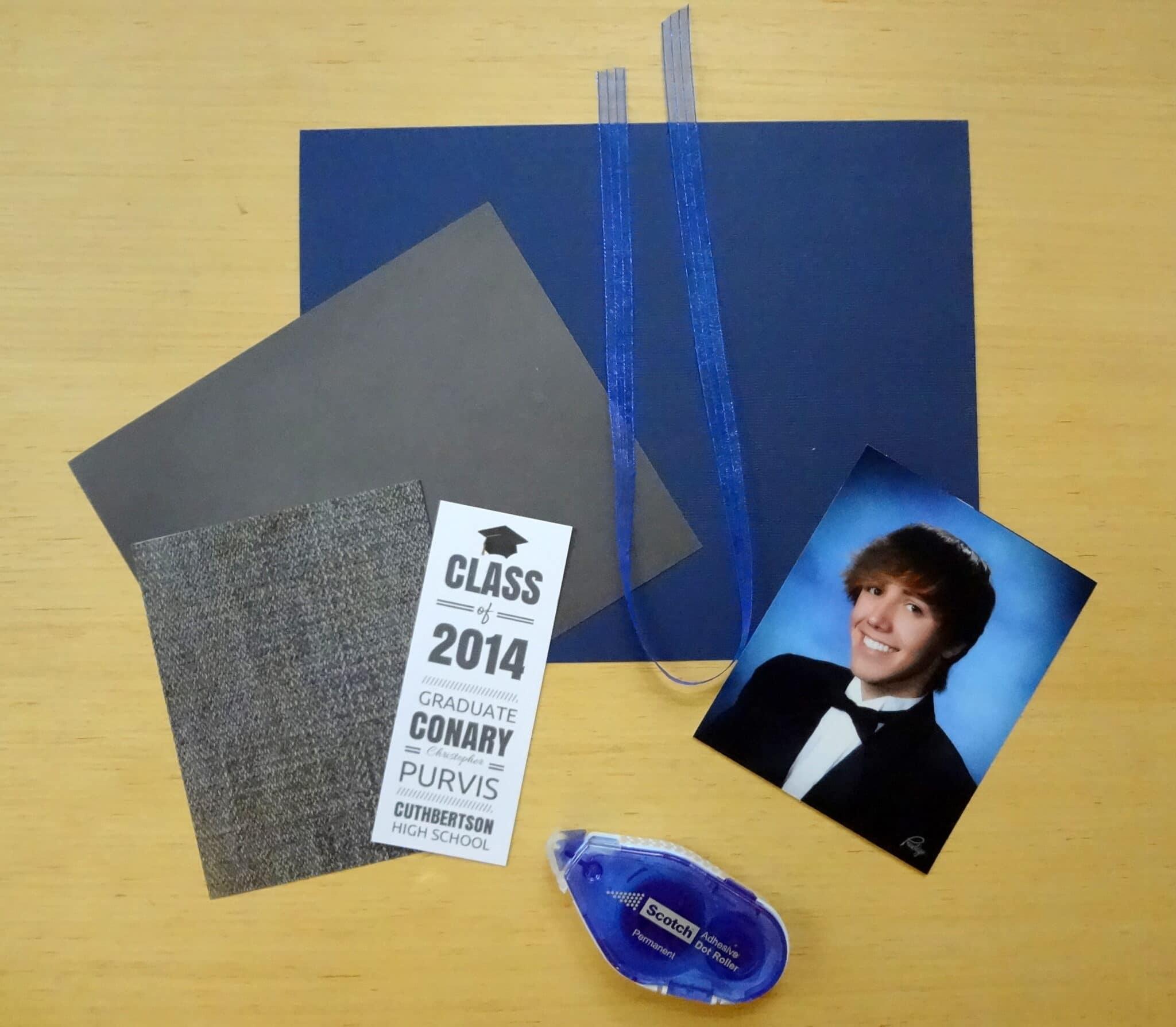 diy grad announcement - Homemade Graduation Invitations