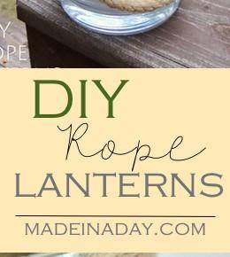 DIY Rope Lantern Vases 31