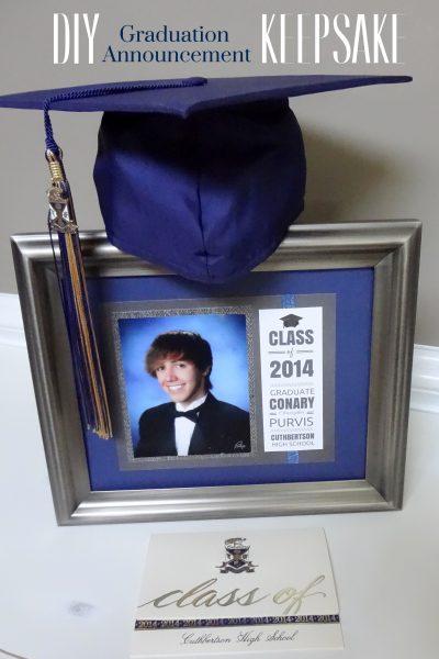 DIY Graduation Announcement