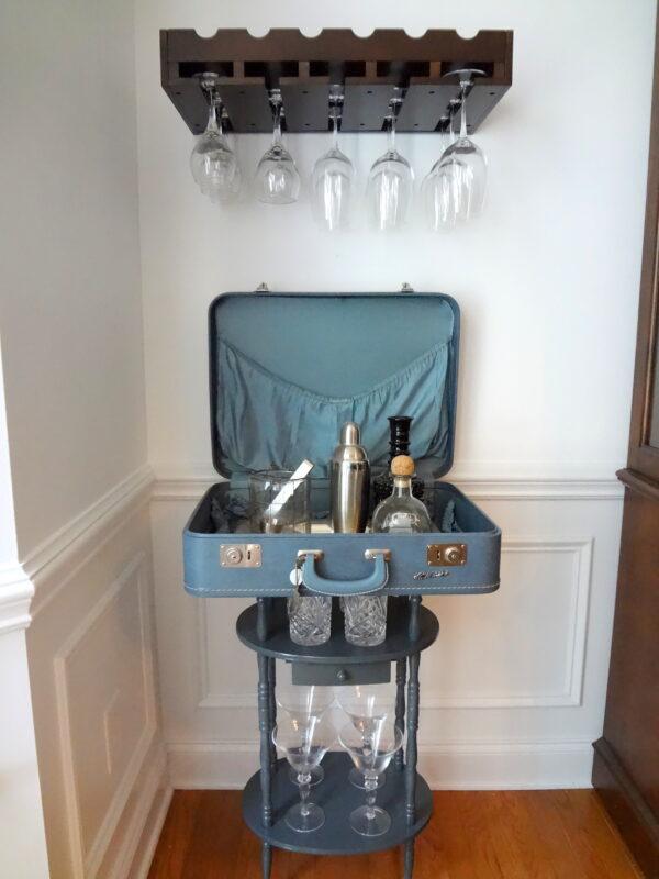 Vintage Suitcase Craft Bar madeinaday.com