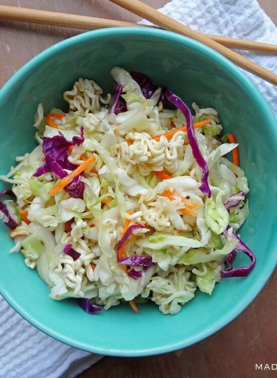 Crunchy Napa Cabbage Slaw Recipe 1