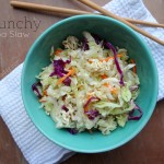 Crunchy Napa Cabbage Slaw Recipe