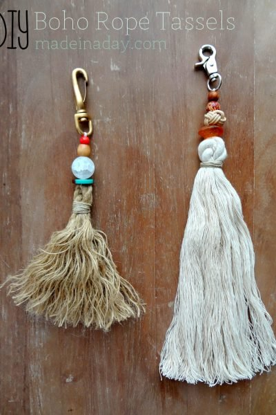 Bohemian Rope Tassels