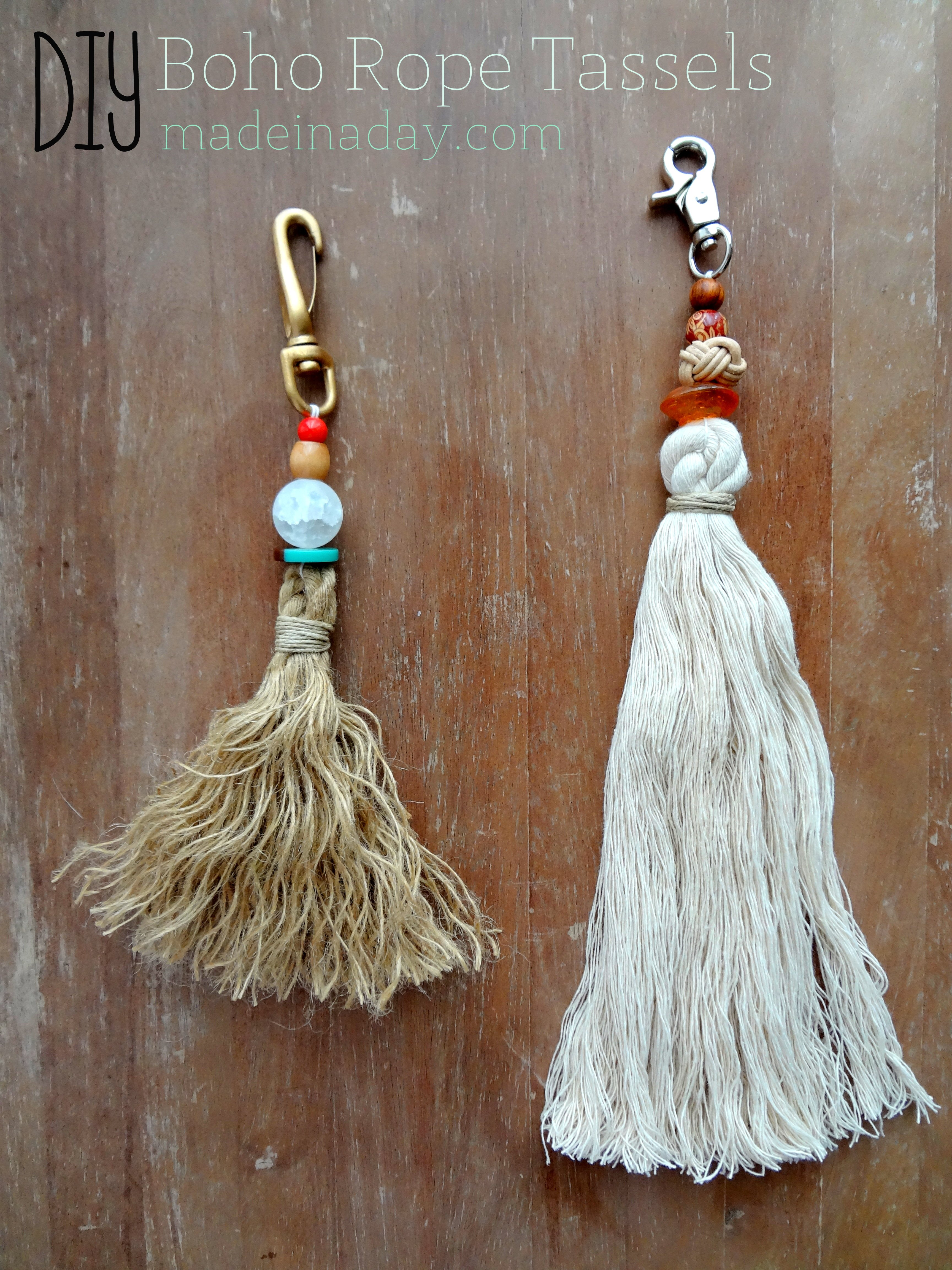 Bohemian Rope Tassels Made In A Day