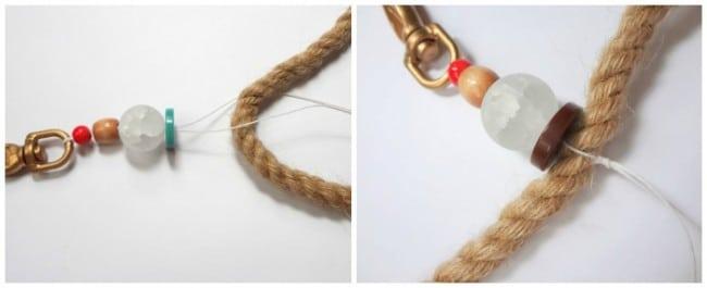 DIY rope tassel