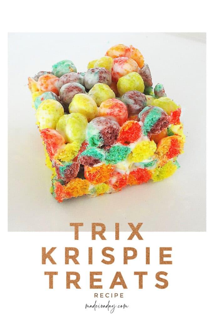 secret recipe trix krispie treats