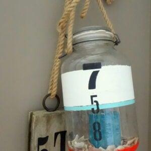 DIY Bouy Nautical Lantern