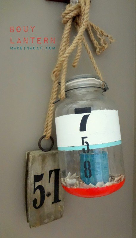 DIY Bouy Nautical Lantern